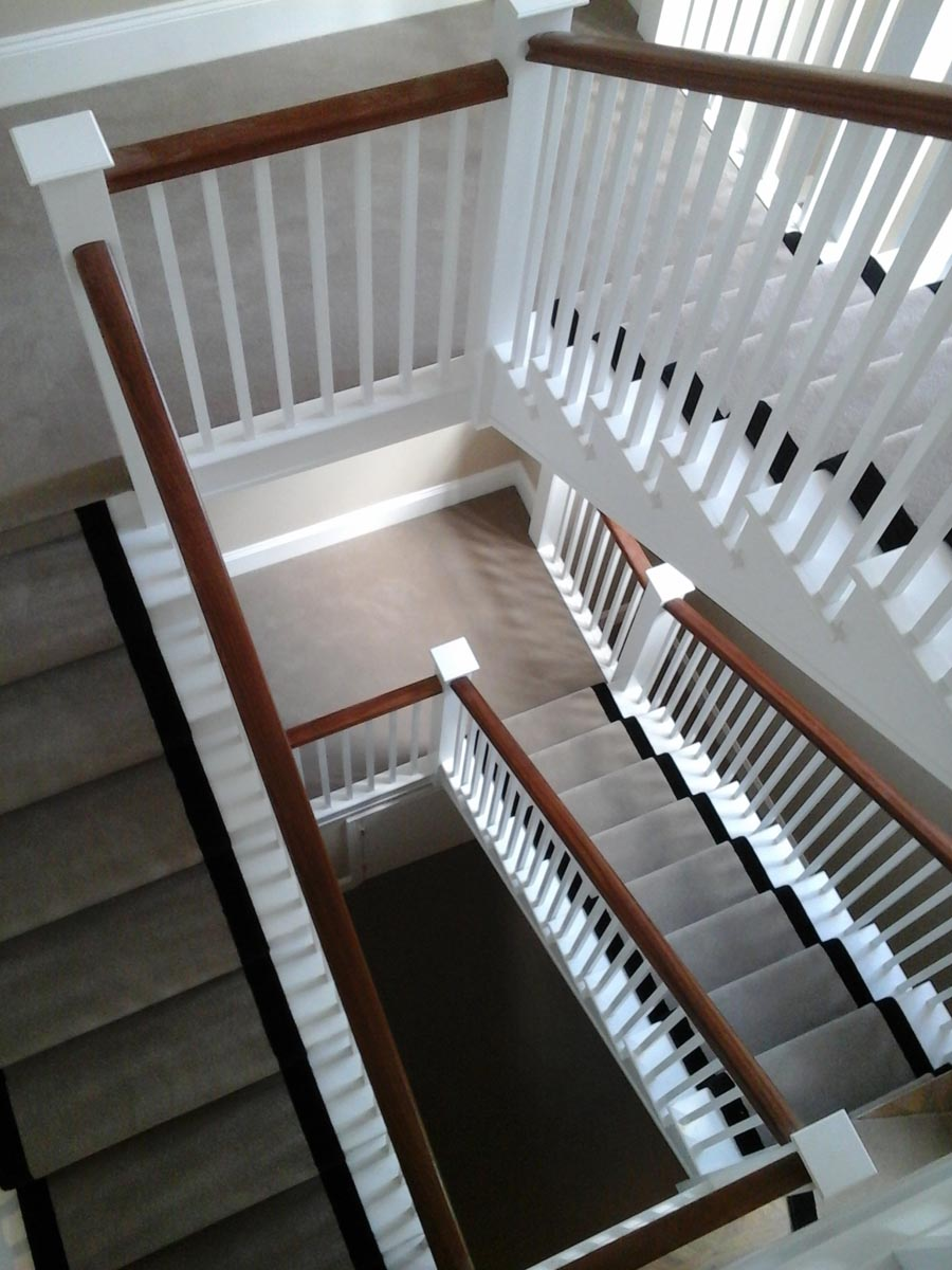Ulster Carpets fitted for client
